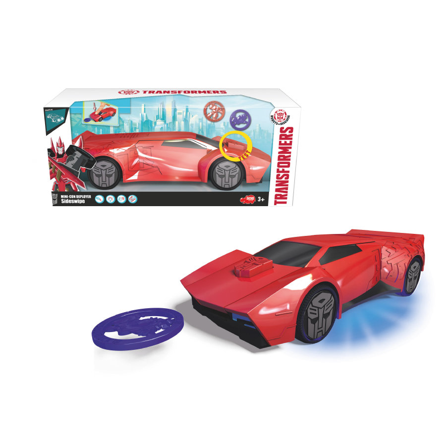 DICKIE Toys Mini-Con Deployer Sideswipe