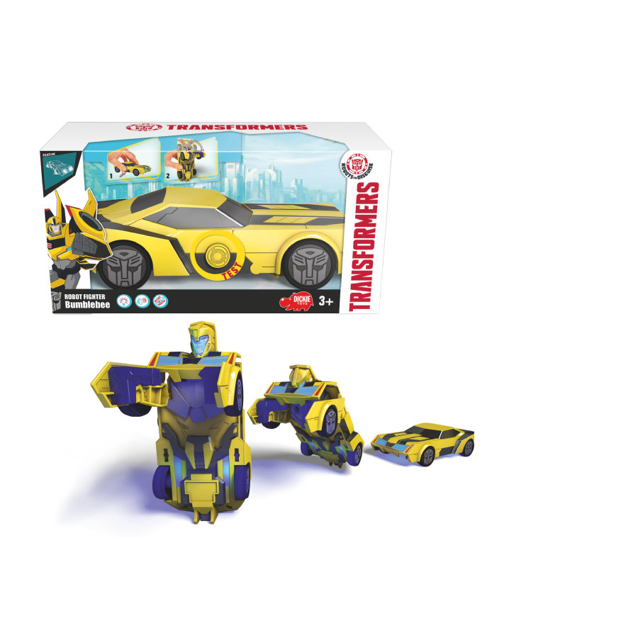 DICKIE Toys Robot Fighter Bumblebee