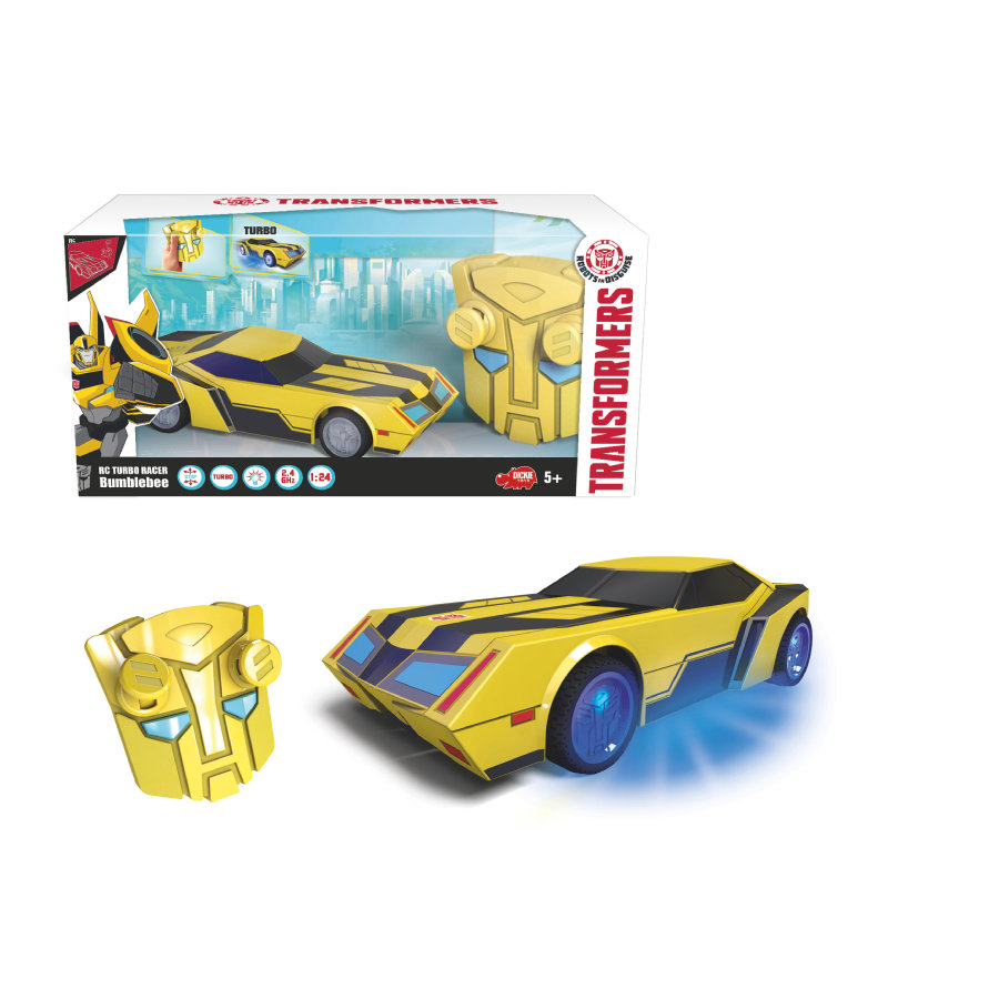 DICKIE Toys RC - Turbo Racer Bumblebee
