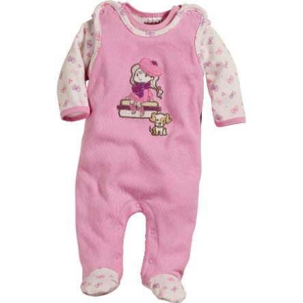 Schnizler Girls Strampler-Set pastell Rose