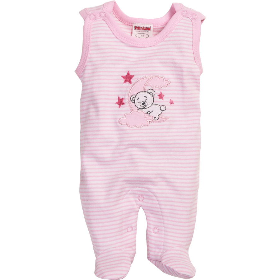 Schnizler Girls Strampler-Set Mond Rose
