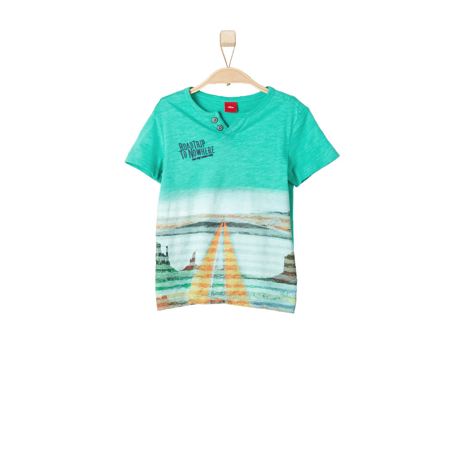 s.OLIVER Boys T-Shirt green