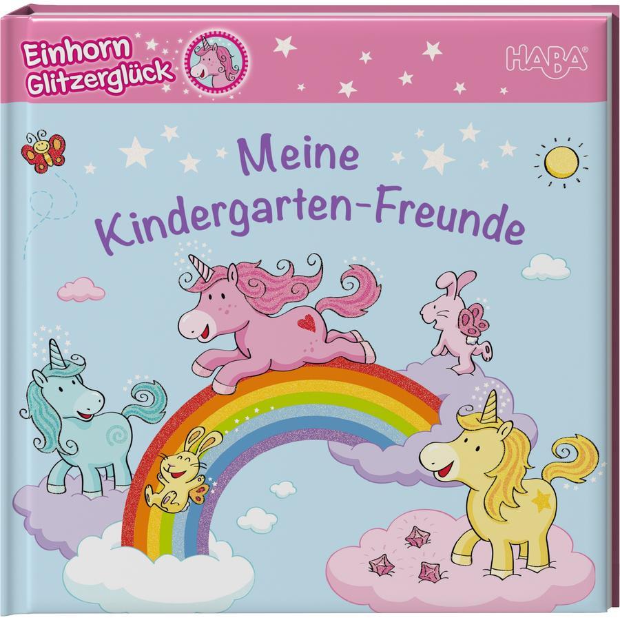 HABA Freundebuch, Einhorn Glitzerglück - Meine Kindergarten-Freunde 300754