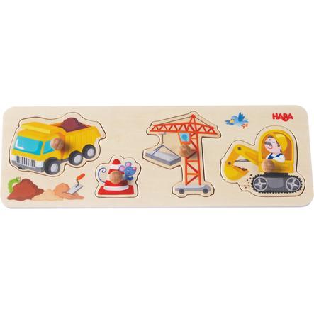 HABA Puzzle con bottoni Al cantiere 301943