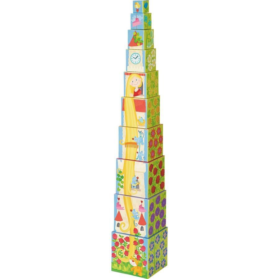 HABA Stapelwürfel Rapunzel 302030