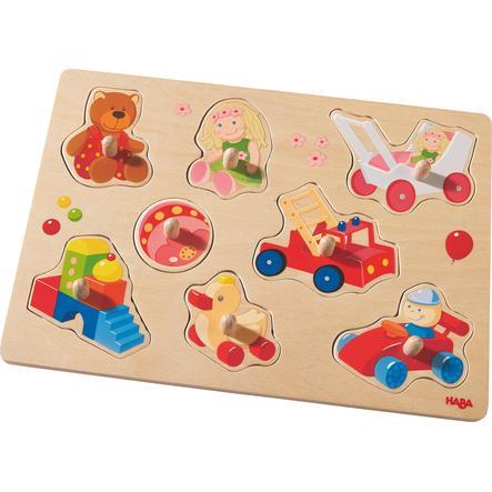 HABA Greifpuzzle Meine ersten Spielzeuge 301963