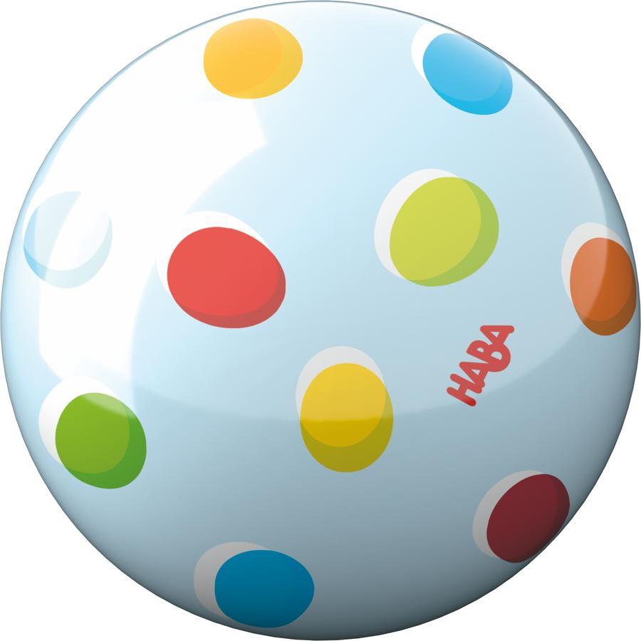 HABA Piłka z tęczowymi punktami 301997
