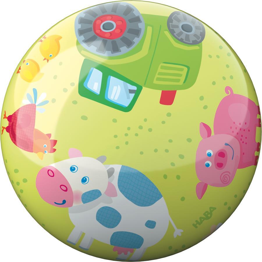 HABA Ball Bauernhof-Tiere 22 cm, 301986