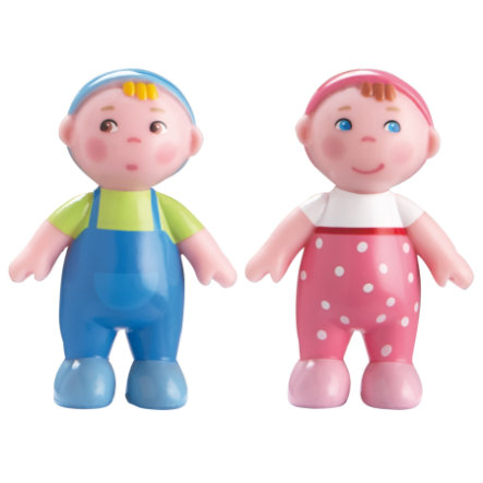 HABA Little Friends rodina - miminka Max a Marie 302010