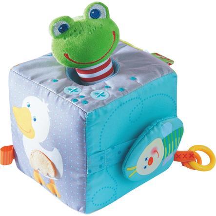 HABA Hrací kostka kouzelná žába 301859