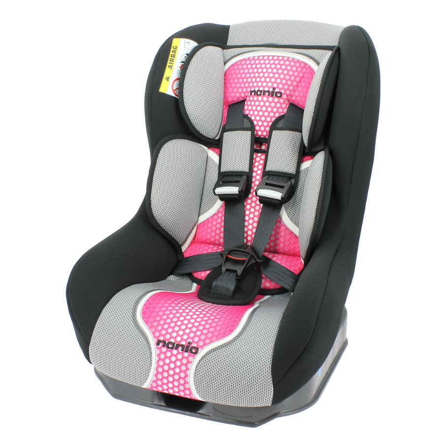 NANIA Bilbarnstol Safety Plus NT Pop Pink