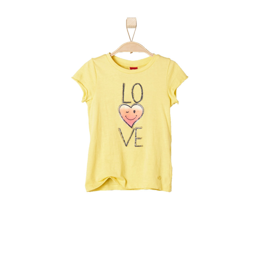 s.OLIVER Girls T-Shirt yellow