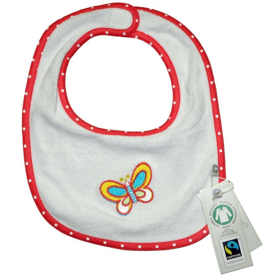 EBI & EBI Fairtrade Lätzchen weiß