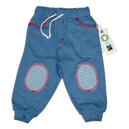 Pantalon de jogging EBI & EBI Fairtrade denim melange