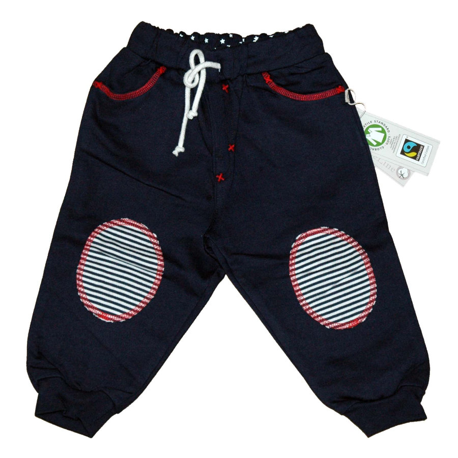 EBI & EBI Fairtrade Jogginghose marine