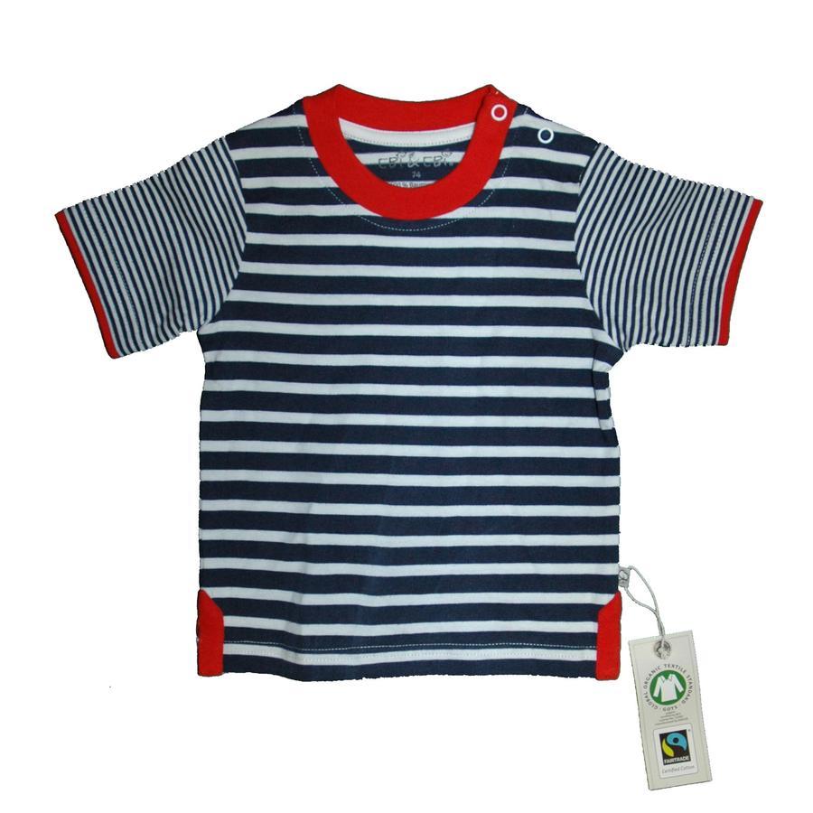EBI y EBI marinos rayados T-Shirt de Comercio Justo Fairtrade