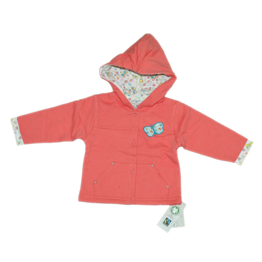 EBI & EBI Fairtrade Sweatjacke gerogia peach