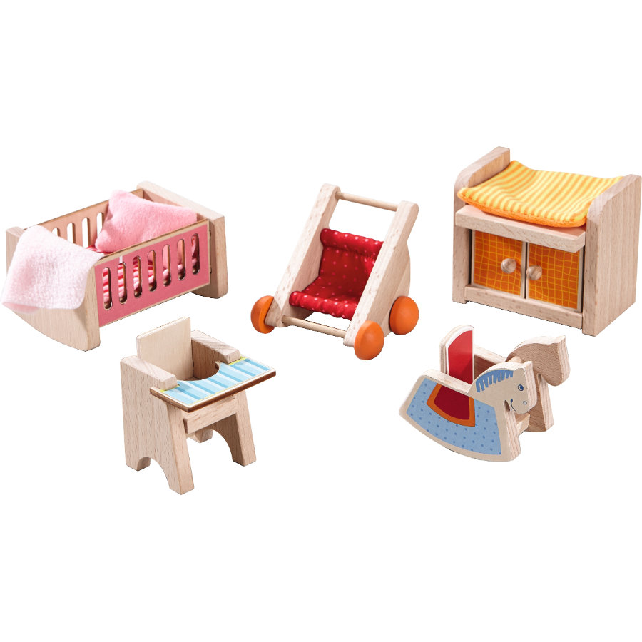 HABA Little Friends Poppenhuis Meubels - Kinderkamer 301989