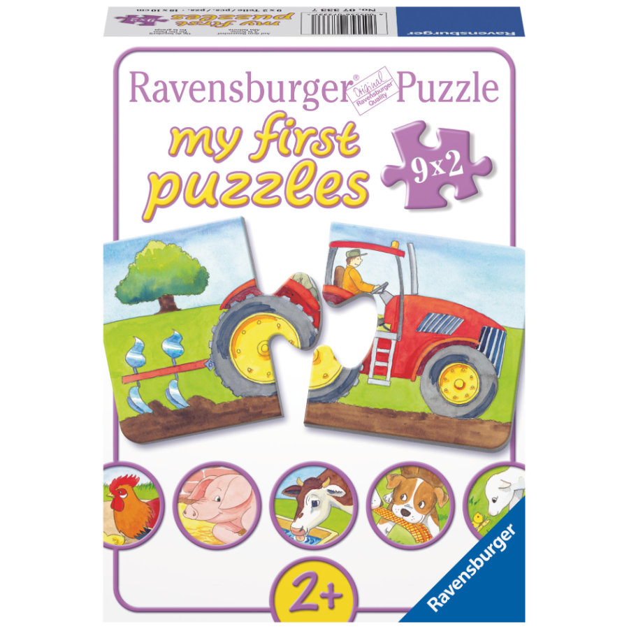 Ravensburger My first Puzzle Na statku 9 x 2 díly