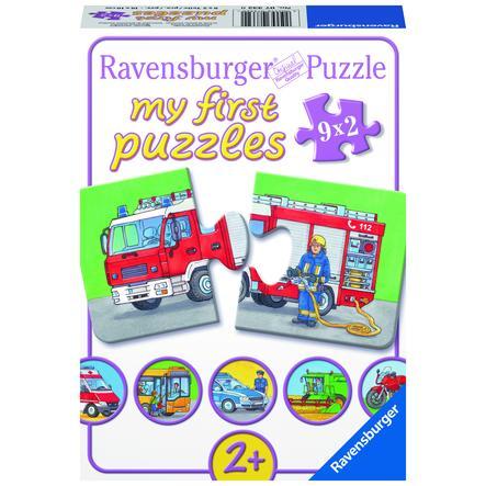 RAVENSBURGER Moje první puzzle, 2 díly 07332