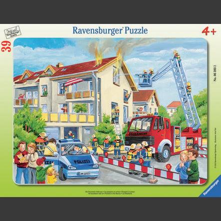 RAVENSBURGER Puzzel - Brandweer in actie, 39 stukjes