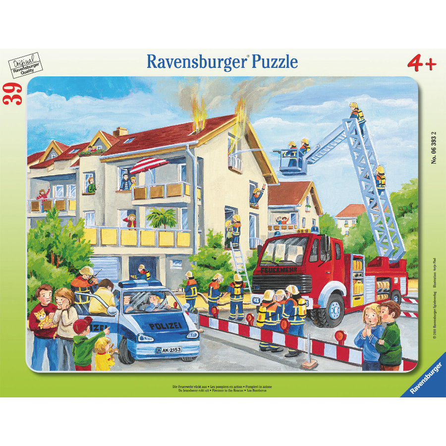 RAVENSBURGER Rampussel - Brandkåren