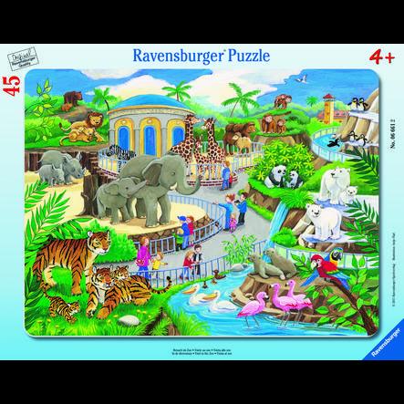 RAVENSBURGER Puzzle - Visita allo Zoo, 45 pezzi