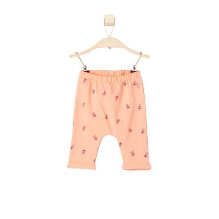 s.OLIVER Girl s Leggingsleerplanken licht oranje