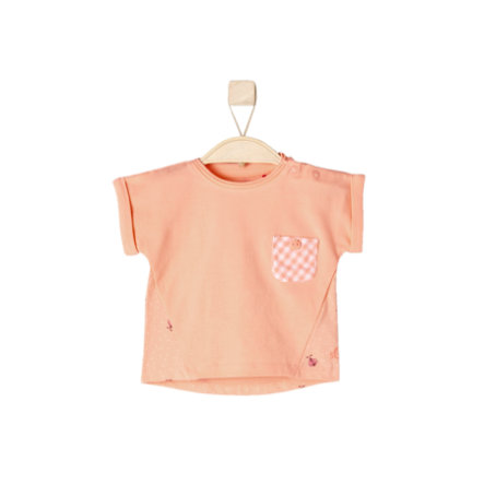 s.OLIVER Girls T-Shirt light orange