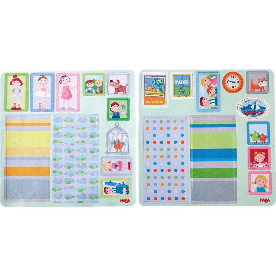 HABA Little Friends - Autocollants décoratifs maison de poupée 301962