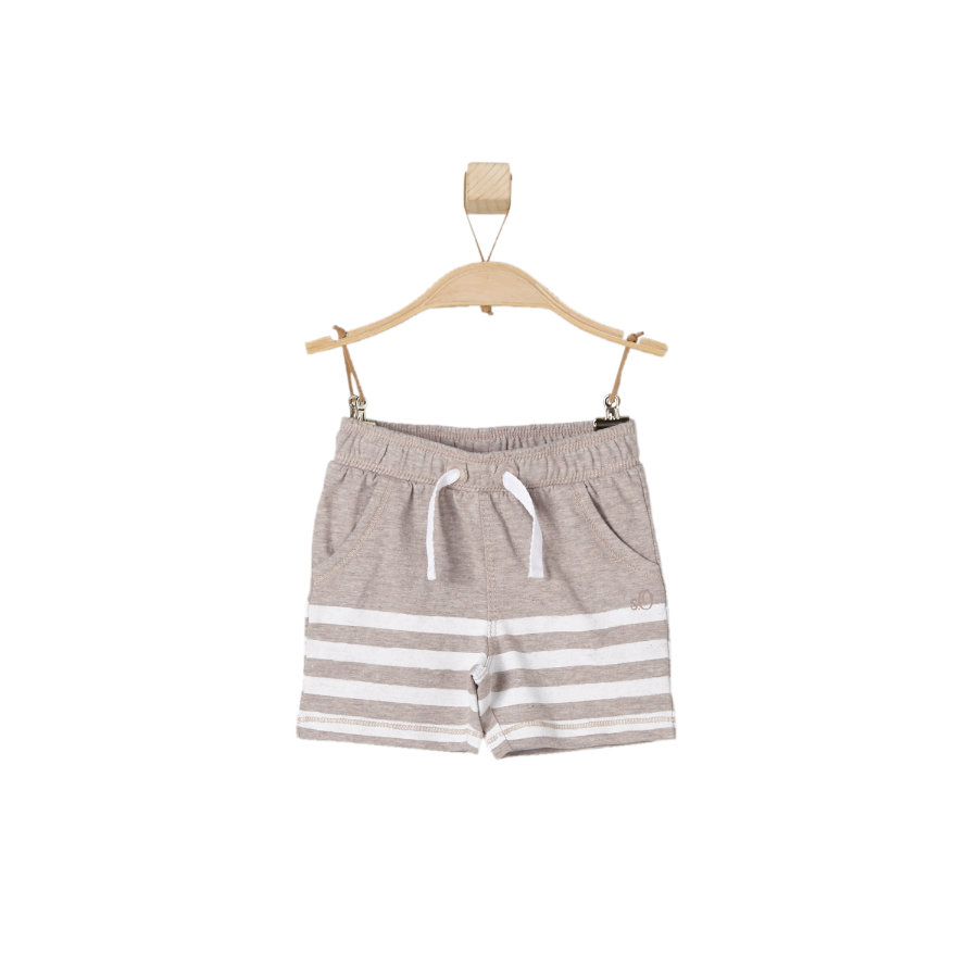 s.OLIVER Boys Shorts marrón mélange