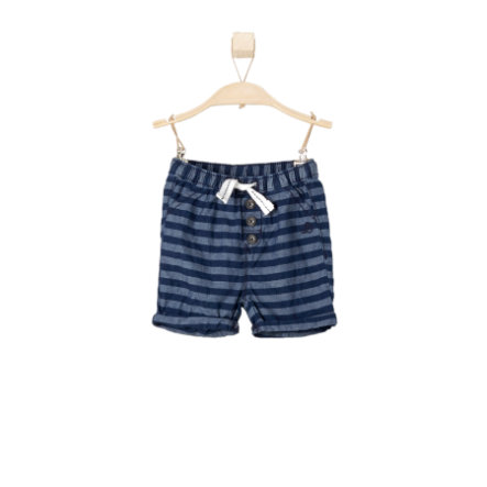 s.OLIVER Boys Shorts blue denim regular