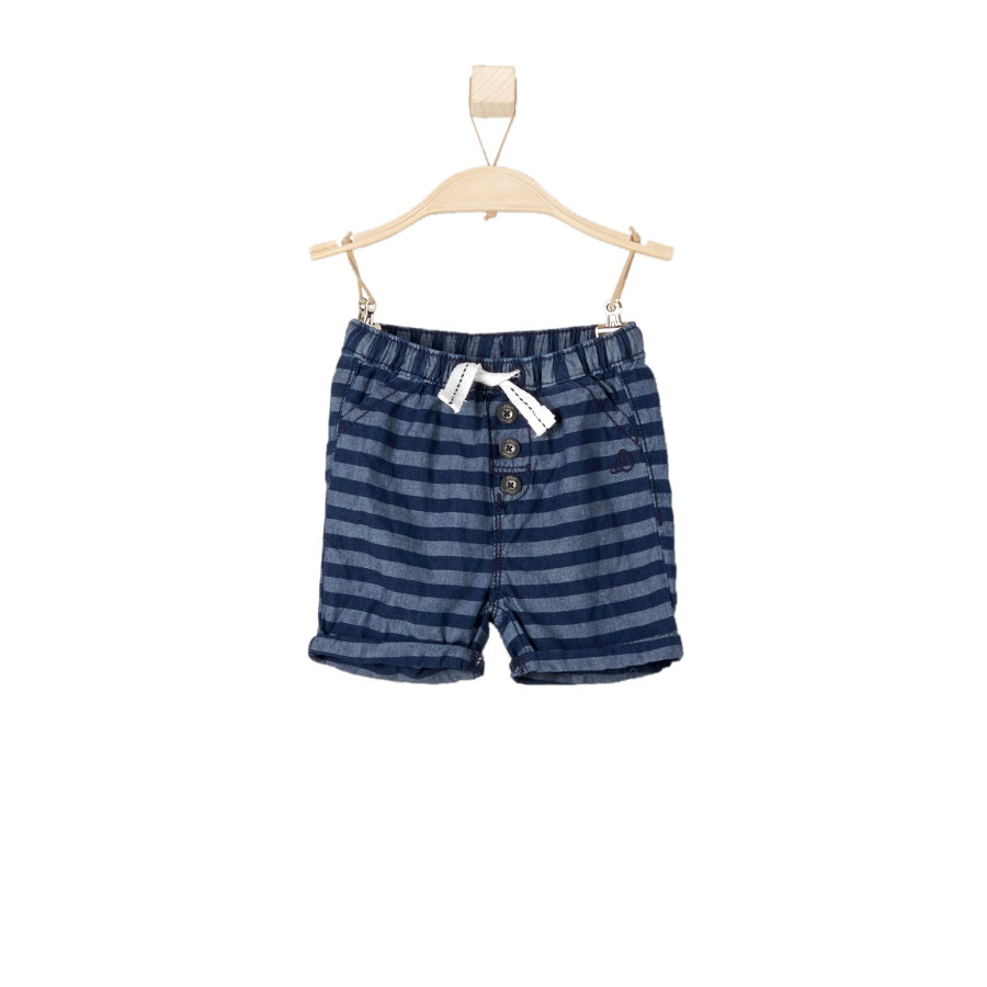 s.OLIVER Boys Pantaloncini blu denim regular