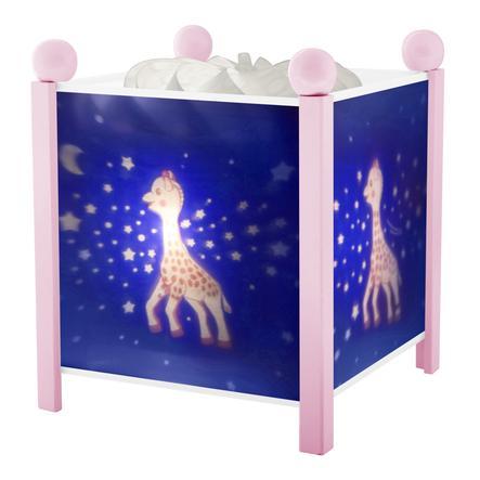 TROUSSELIER Magisch Nachtlampje Sophie the Giraffe©, melkweg roze