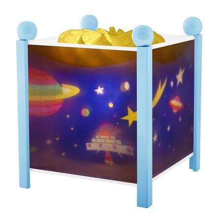 TROUSSELIER Magisch Nachtlampje ruimte blauw