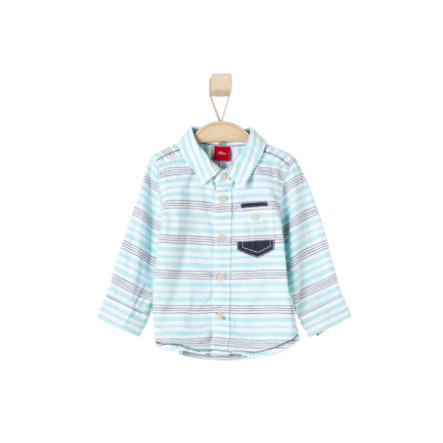 s.OLIVER Boys Košile light blue stripes
