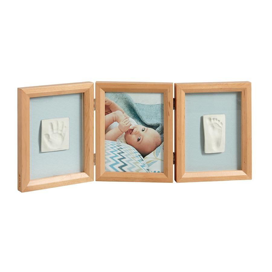 BABY ART BABY ART Fotoram med avtryck - Double Print Frame Honey