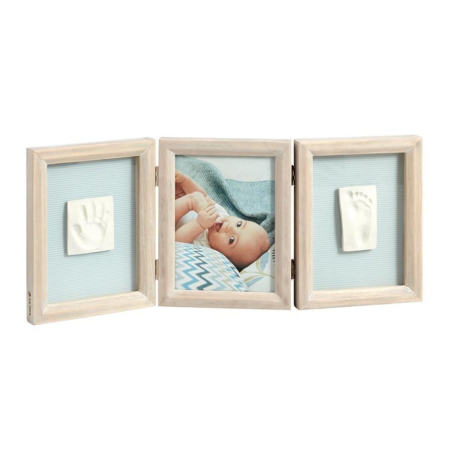 BABY ART Bilderrahmen mit Abdruck - Double Print Frame Stormy ...