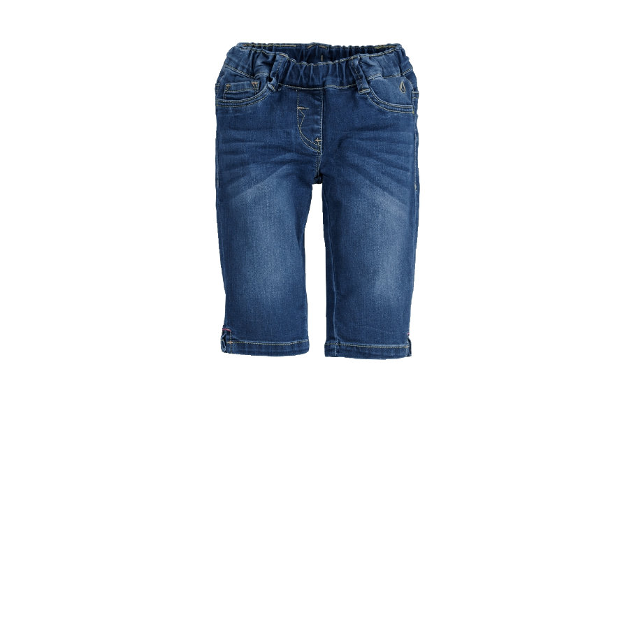 s.OLIVER Girls Džínové Capri kalhoty light blue denim stretch regular