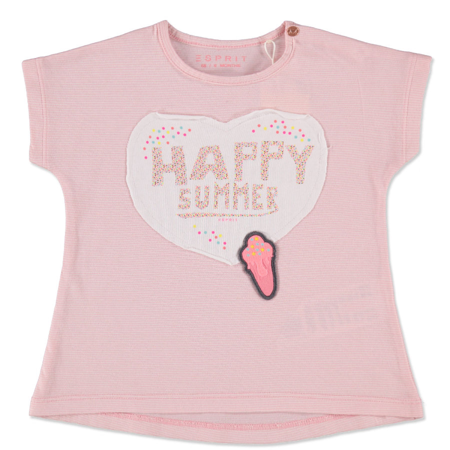 ESPRIT T-shirt för tjejer rosa