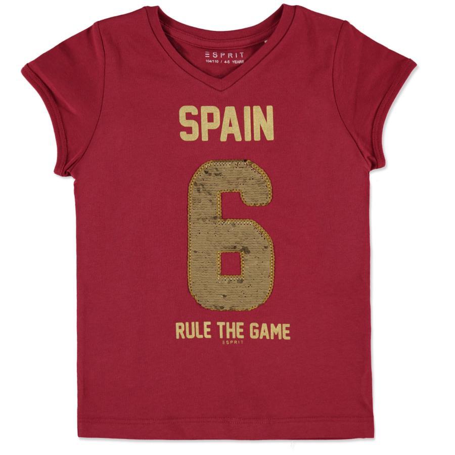 ESPRIT Girls Soccer T-Shirt Spanien rot