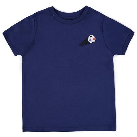 ESPRIT Boys Soccer Bluzka z krótkim rękawkiem France navy