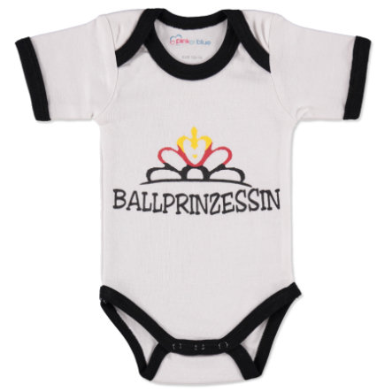 pink or blue Girls Body dziecięce Ballprinzessin white