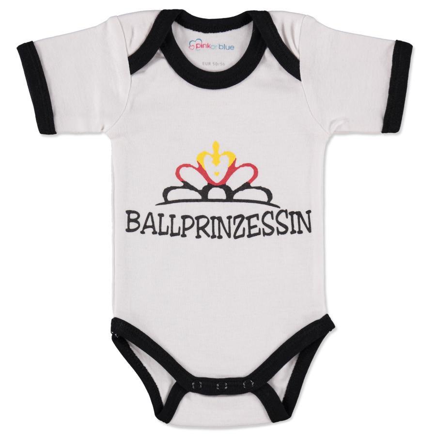 pink or blue Girls Body dziecięce Ballprinzessin white