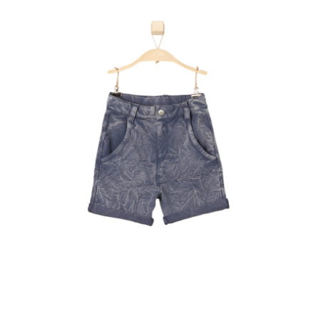 s.OLIVER Boys Pantaloncini felpa blu scuro
