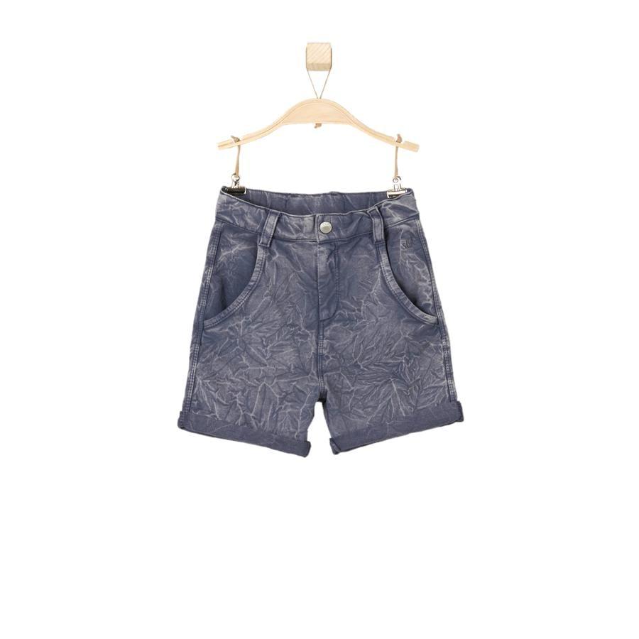 s.OLIVER Boys Sweat-shorts bleu foncé