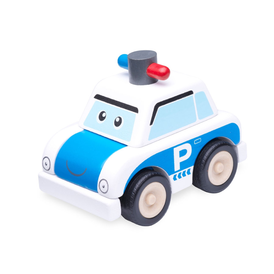 WONDERWORLD® - Miniworld Bausatz Polizeiauto WW-4072
