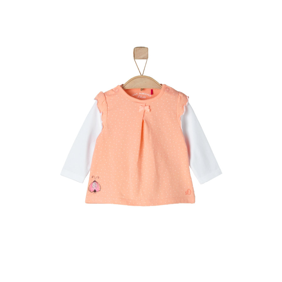 s.OLIVER Girls Longsleeve light orange