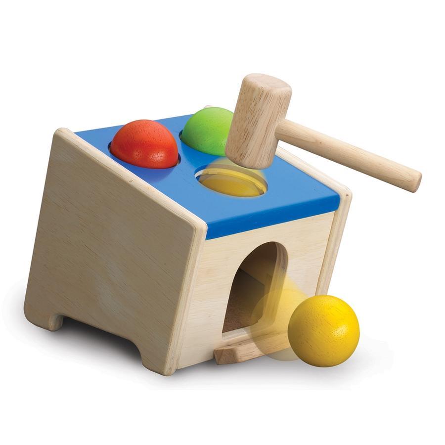WONDERWORLD® - Scatola in legno con palline e martello WED-3088