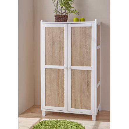 TICAA Armoire CROCO PIRATE, somoma, blanc